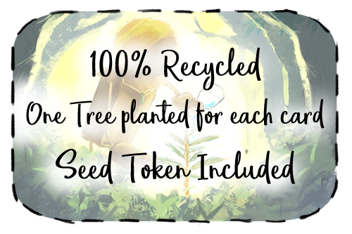 We Are A Team Of Environmentalists Promise To Do Our Best Leave Net Positive Impact On The Planet With 1 Tree Cards