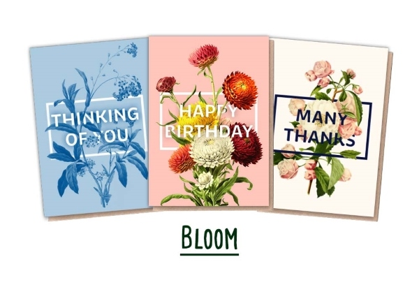 Plantable Cards - 3 Floral Cards