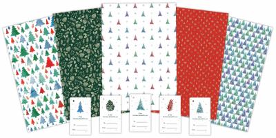 Festive Wrapping Paper Pack Fan