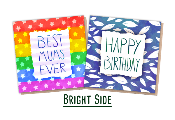 Recycled Greeting Cards - 2 Nature Cards